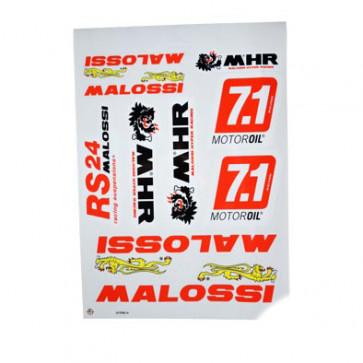 Klistermærke - Sticker  MALOSSI (PLANCHE 25X35CM)