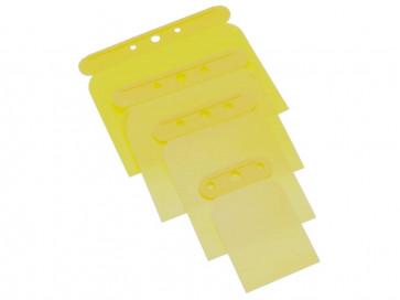Spatelblad Presto Plastic (Polypropylen) - Sæt med 4