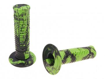 Håndtag Domino A260  snake sort / grøn