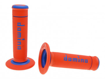 Håndtag Domino A190  orange / blå