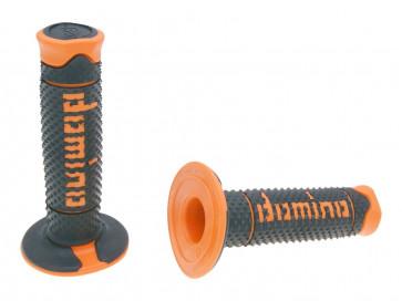Håndtag Domino A260  sort / orange