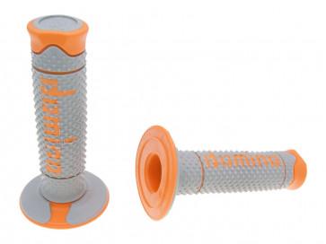 Håndtag Domino A260  grå / orange