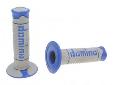 Håndtag Domino A260  grå / blå