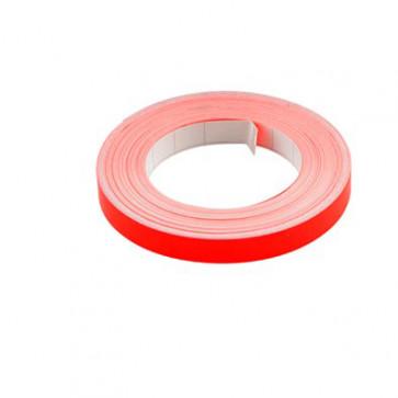 Klistermærke - Sticker Bånd Neonrød 9MM (10M) POUR
