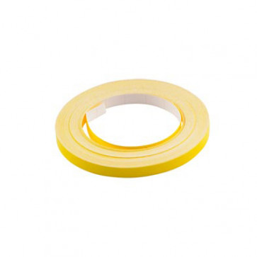 Klistermærke - Sticker Bånd Neongul 6MM (10M) POUR