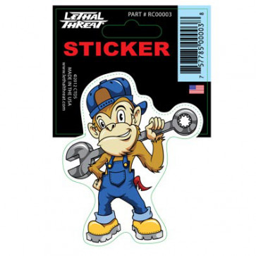 Klistermærke - Sticker (7X11CM)  RC00003