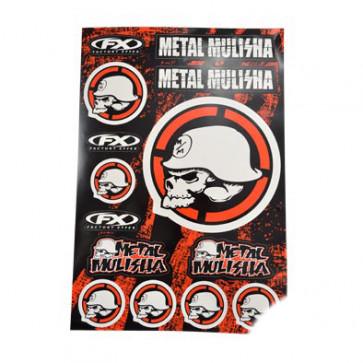 Klistermærke - Sticker  MULISHA 2 (PLANCHE 49X33CM)