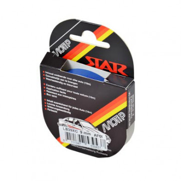 Klistermærke - Sticker Bånd Mørkeblå 9MM (10M) POUR