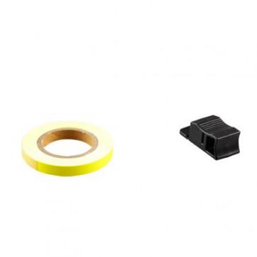 Klistermærke - Sticker Bånd TUN'R GulNeon7MM (6M)
