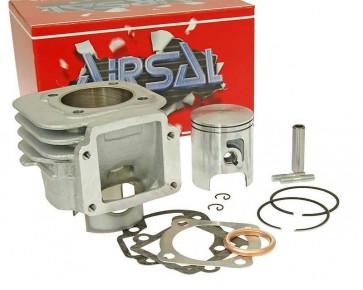 Cylinderkit Airsal T6 Tech-Piston 69.7cc 47.6mm til Minarelli vertical