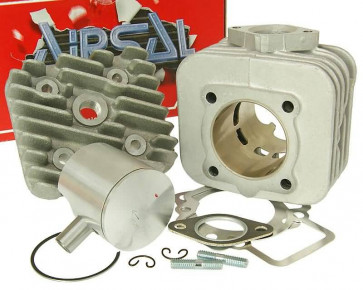 Cylinderkit Airsal T6-Racing 69.7cc 47.6mm til Piaggio AC