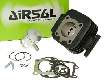 Cylinderkit Airsal sport 49.2cc 40mm, 39.2mm cast iron til Minarelli vertical