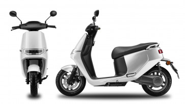 Ecooter E2 elscooter hvid 30/45km