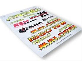 Malossi Stickers