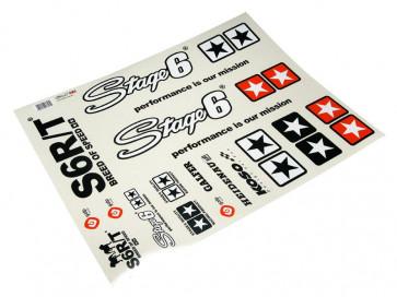 Stickersæt - Stage6 MKII A2 - Sort