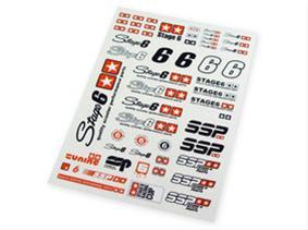 Stickersæt - Stage6 A4