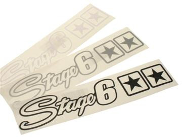 Sticker - Stage6 m. stjerner
