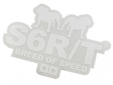 Sticker - Stage6 Breed of Speed (hvid)