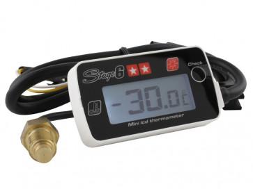 Temperaturmåler - Stage6 MKII hvid