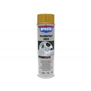 Hjulspray Presto guld 500 ml