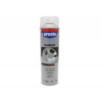 Clearcoat Presto blank til feltspray 500 ml