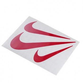 Klistermærke - Sticker VIRGULE rød (10X12CM)