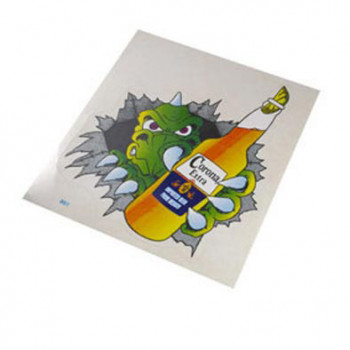 Klistermærke - Sticker CORONA EXTRA (14X16CM)