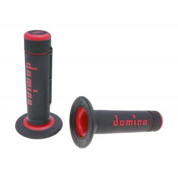 Håndtag Domino A020    sort / rød