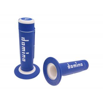 Håndtag Domino A020    blå / hvid