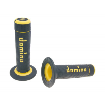 Håndtag Domino A020    sort / gul