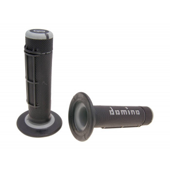 Håndtag Domino A020    sort / grå