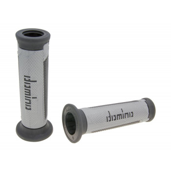 Håndtag Domino A350  sølv-grå / anthracite