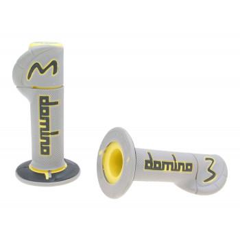 Håndtag Domino A230  grå / gul / sort