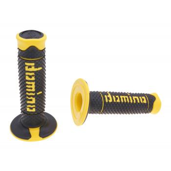 Håndtag Domino A260  sort / gul
