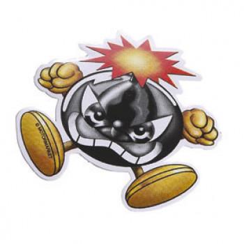 Klistermærke - Sticker CRUEL MINI BOMBE (8CM)