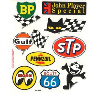 Klistermærke - Sticker LUBRIFIANTS (20X24CM)