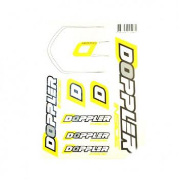 Klistermærke - Sticker (PLANCHE A4 - 21X29.7CM)