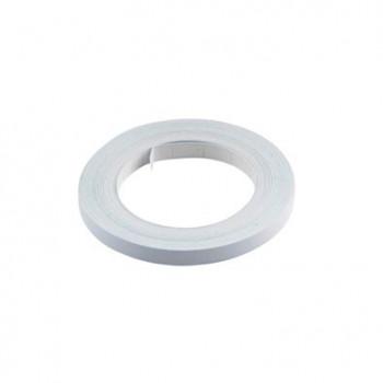 Klistermærke - Sticker Bånd Hvid 6MM (10M) POUR