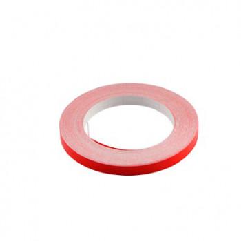 Klistermærke - Sticker Bånd rød 6MM (10M) POUR