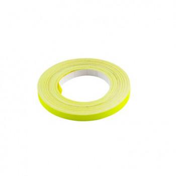 Klistermærke - Sticker Bånd Gul 6MM (10M) POUR