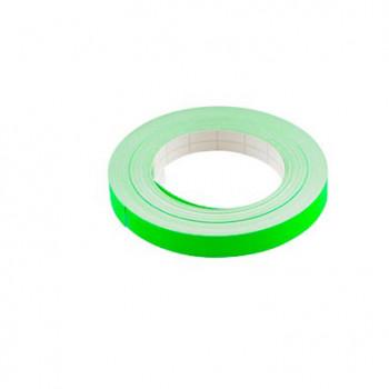 Klistermærke - Sticker Bånd NeonVERT 9MM (10M) POUR