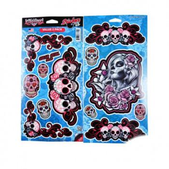Klistermærke - Sticker   (30X15M) X2 SB37715