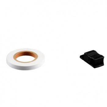 Klistermærke - Sticker Bånd TUN'R Hvid 7MM (6M)