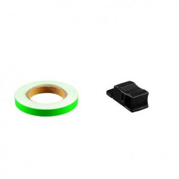 Klistermærke - Sticker Bånd TUN'R VERT Neon7MM (6M)