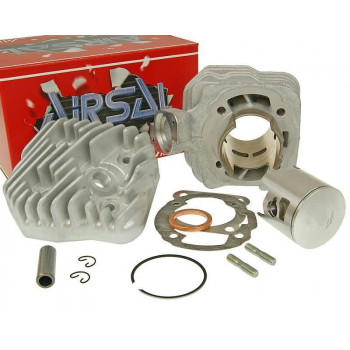 Cylinderkit Airsal T6-Racing 69.7cc 47.6mm til Peugeot vertical AC