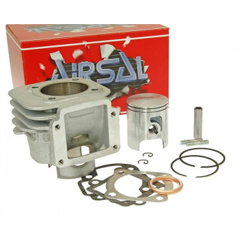 Cylinderkit Airsal T6 Tech-Piston 69.7cc 47.6mm til Minarelli vertical