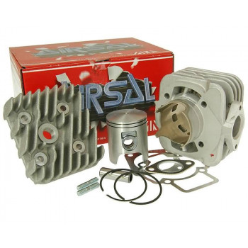 Cylinderkit Airsal T6 Tech-Piston 69.7cc 47.6mm til Piaggio AC
