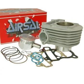 Cylinderkit Airsal sport 149.5cc 57.4mm til 152QMI, GY6 125cc, Kymco AC 125, 150cc