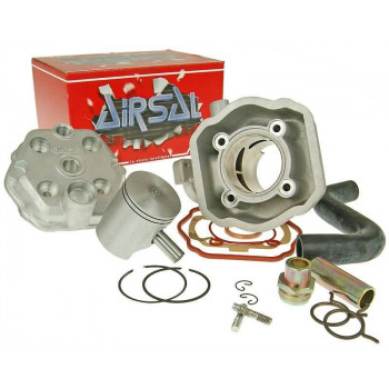 Cylinderkit Airsal Tech-Piston 69.5cc 47.6mm til Peugeot vertical LC