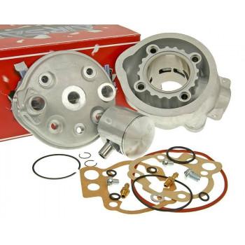 Cylinderkit Airsal Tech-Piston 76.6cc 50mm til Minarelli AM
